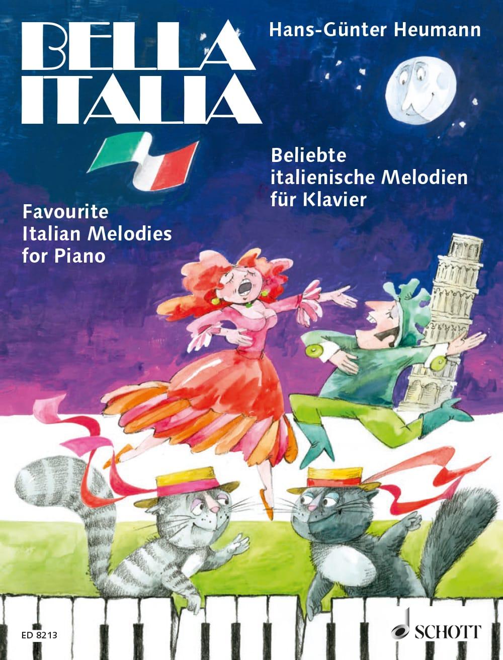 Bella Italia: Beliebte italienische Melodien für Klavier