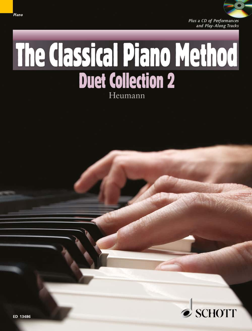 Cover - Heumann, The Classical Piano Method, Duet Collection, Book 2