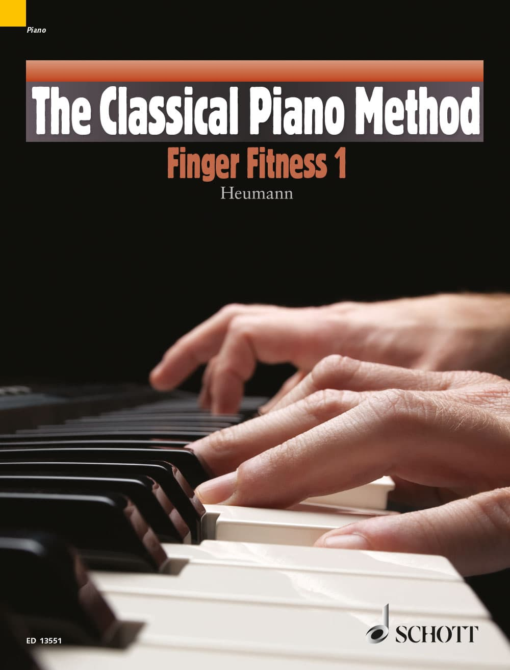 Cover - Heumann, The Classical Piano Method, Finger Fitness, Book 1