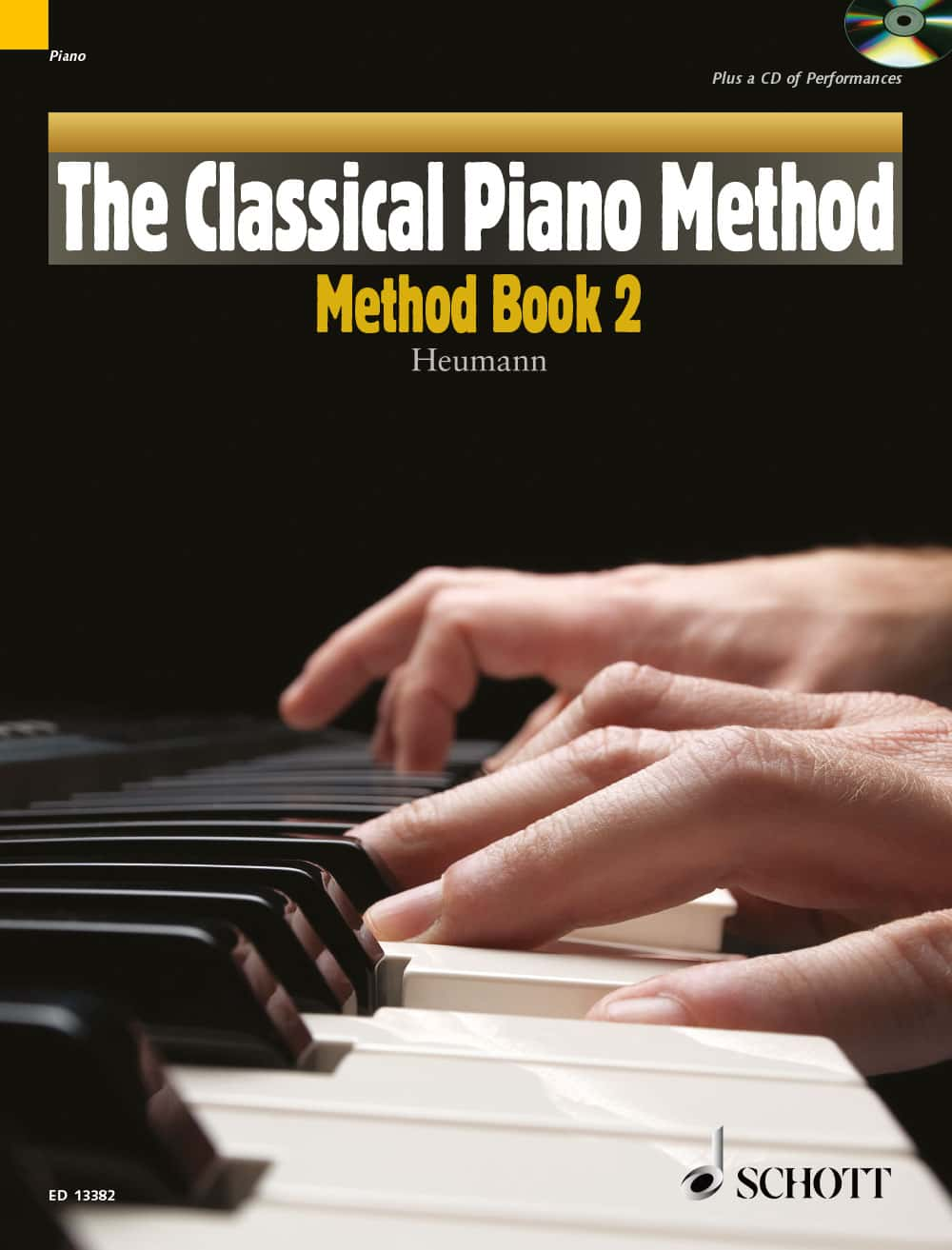 Cover - Heumann, The Classical Piano Method, Method Book, Book 2