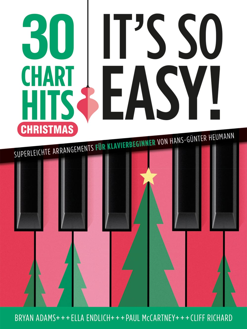 Cover, Titelbild 30 Chart Hits - Its So Easy Christmas