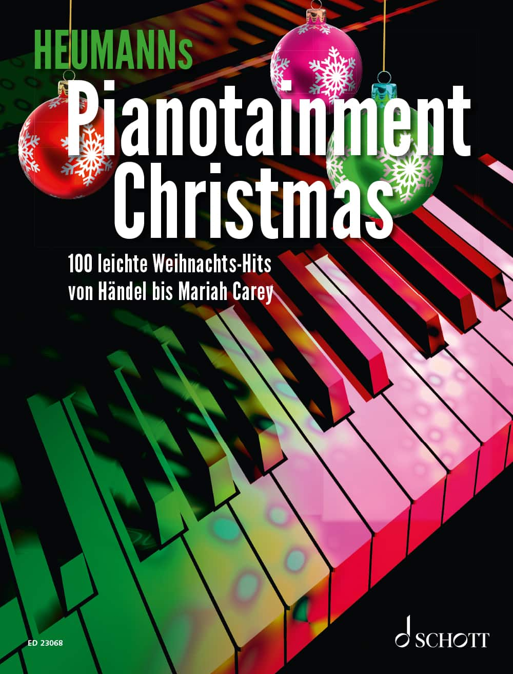 Cover, Titelbild Pianotainment Christmas