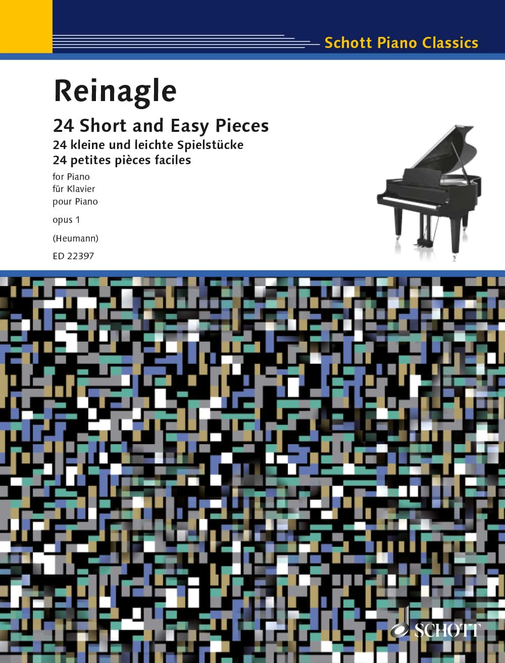 Reinagle: 24 Short And Easy Pieces op. 1