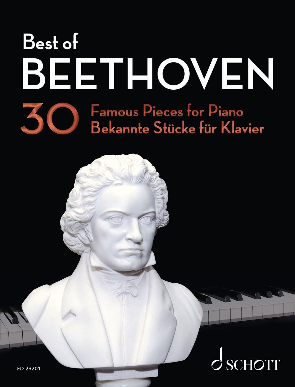 Best Of Beethoven: 30 bekannte Stücke für Klavier