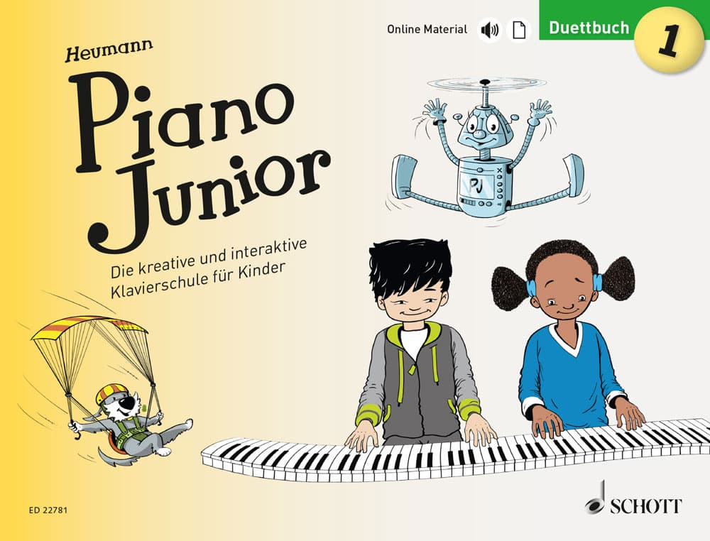 Piano Junior: Duettbuch, Band 1