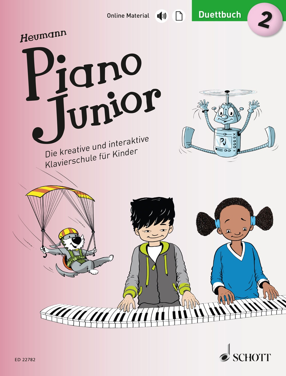 Piano Junior: Duettbuch, Band 2