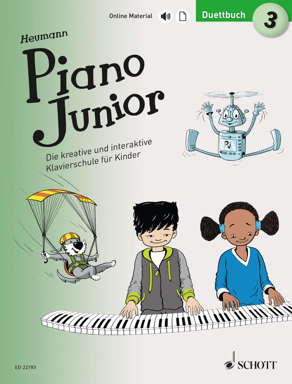 Piano Junior: Duettbuch, Band 3