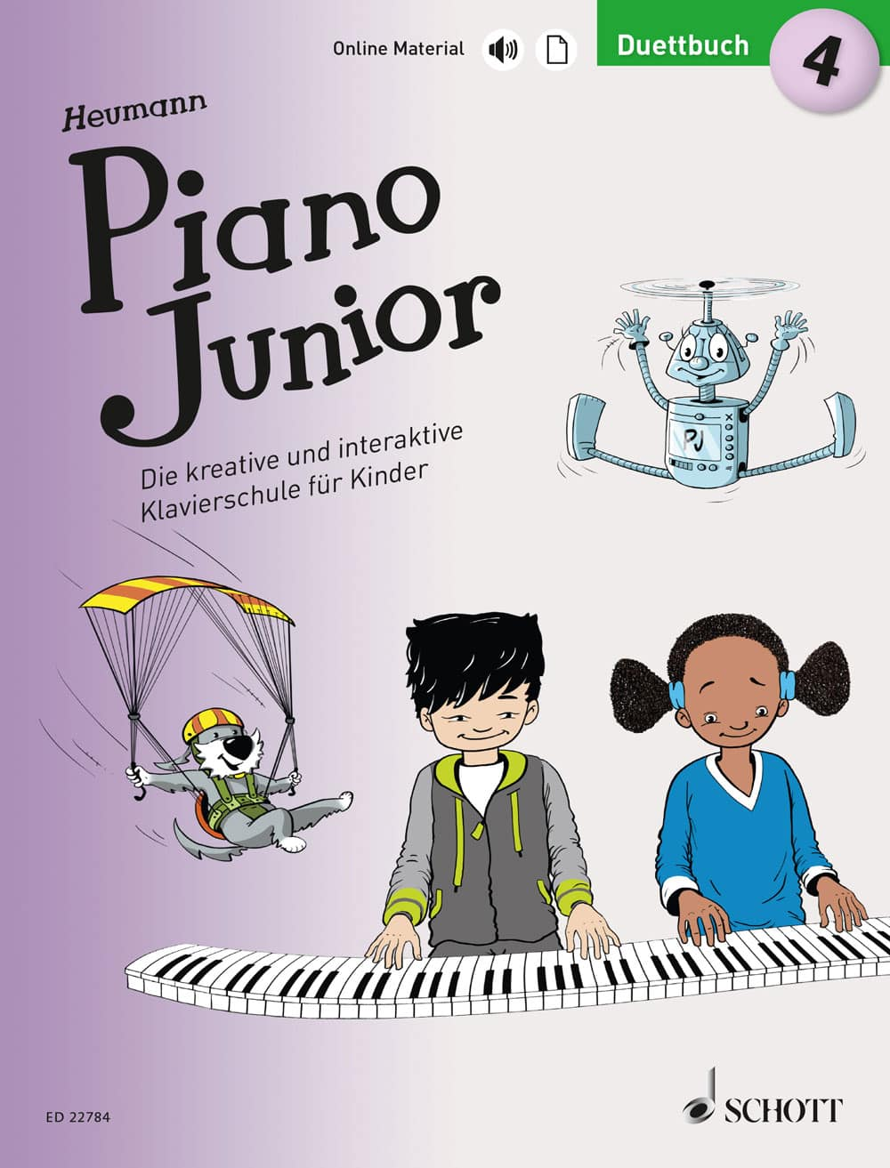 Piano Junior: Duettbuch, Band 4