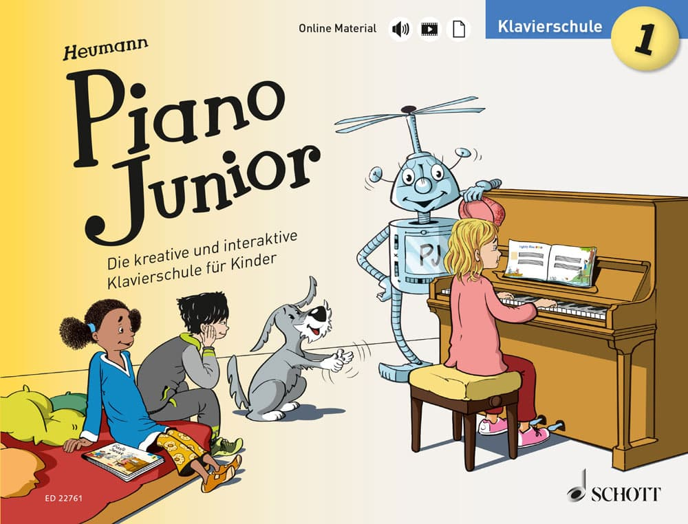 Piano Junior: Klavierschule, Band 1