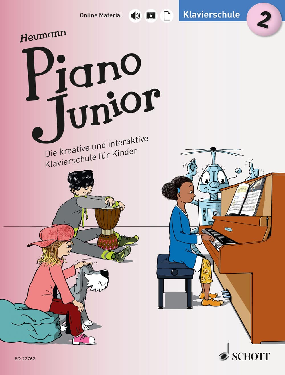 Piano Junior: Klavierschule, Band 2