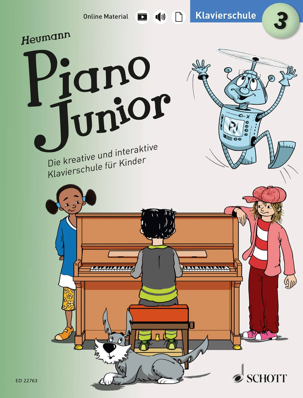 Piano Junior: Klavierschule, Band 3