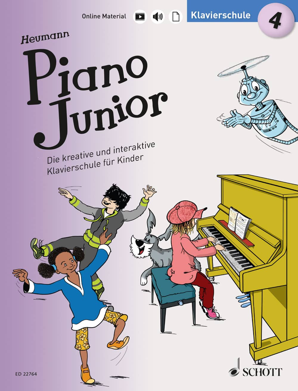 Piano Junior: Klavierschule, Band 4