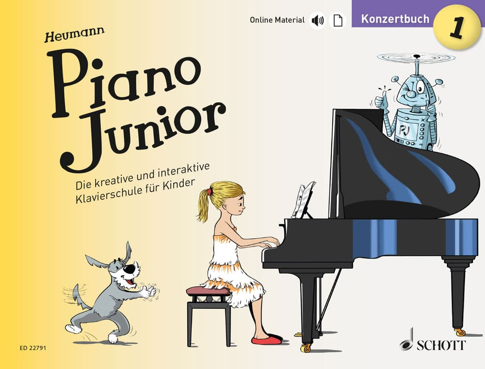 Piano Junior: Konzertbuch, Band 1