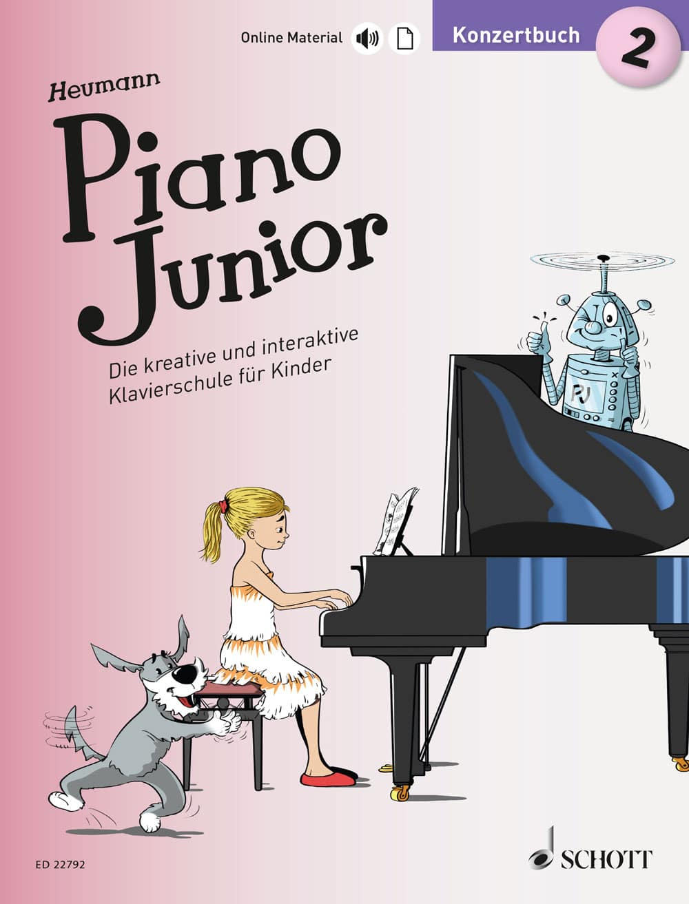 Piano Junior: Konzertbuch, Band 2