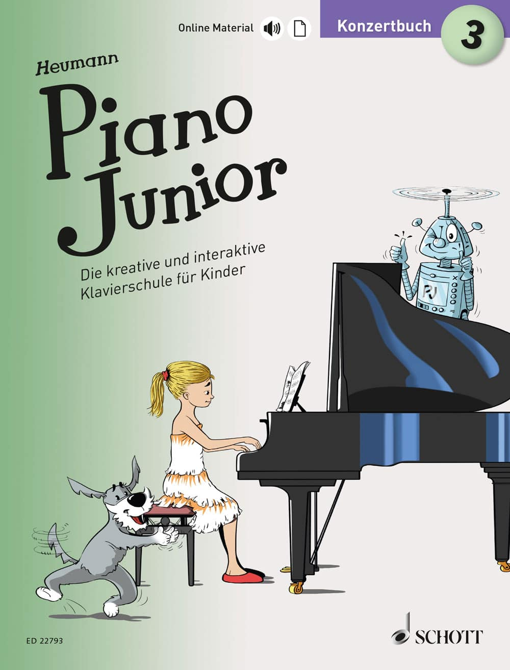 Piano Junior: Konzertbuch, Band 3