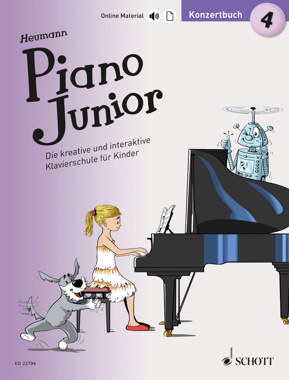 Piano Junior: Konzertbuch, Band 4