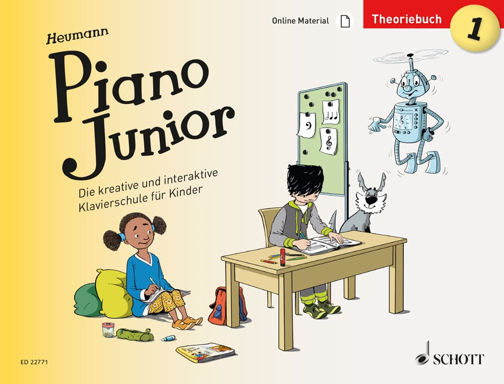Piano Junior: Theoriebuch, Band 1