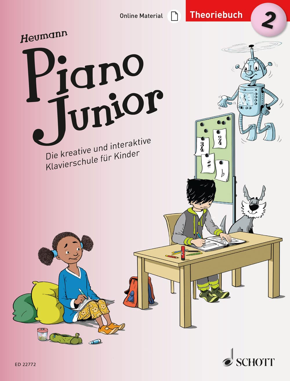 Piano Junior: Theoriebuch, Band 2