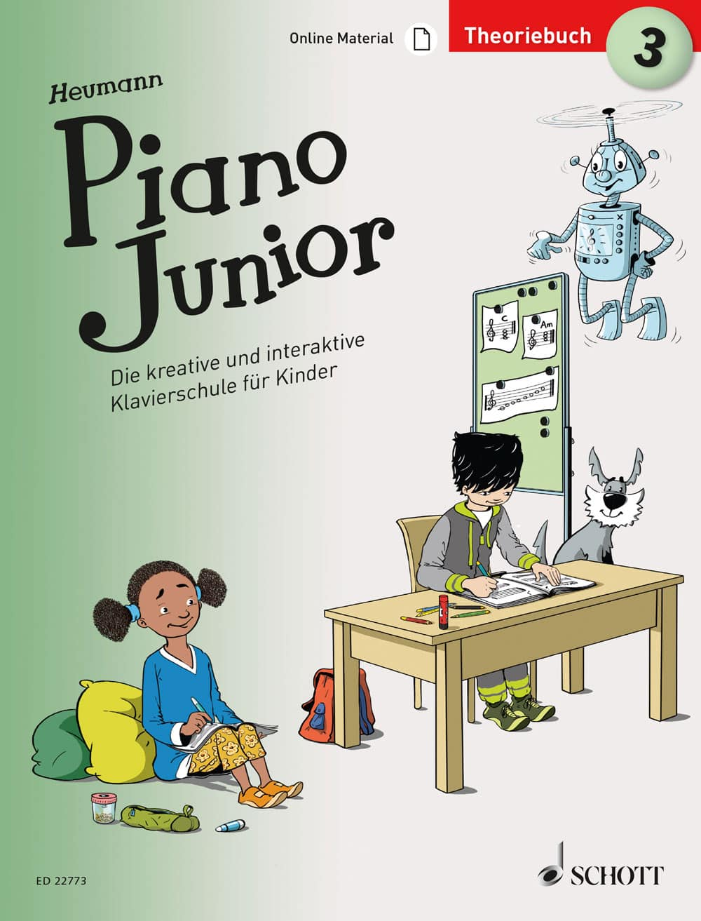 Piano Junior: Theoriebuch, Band 3
