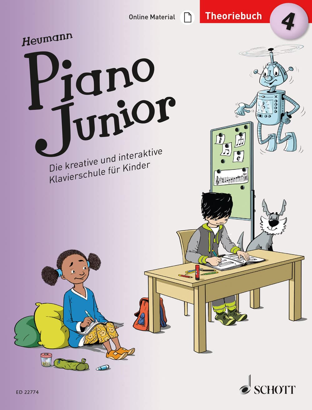 Piano Junior: Theoriebuch, Band 4