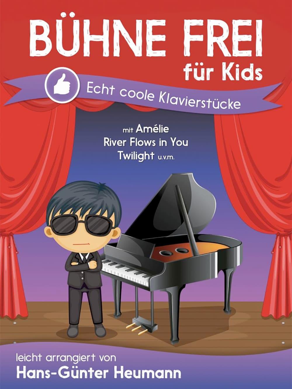 Bühne frei für Kids: 30 echt coole Klavierstücke