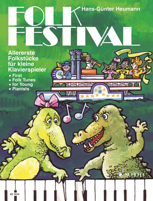 Folk Festival: Allererste Folkstücke für kleine Klavierspieler