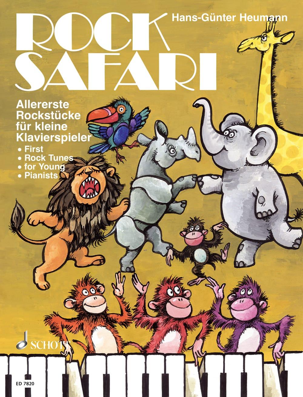 Rock Safari: Allererste Rockstücke für kleine Klavierspieler