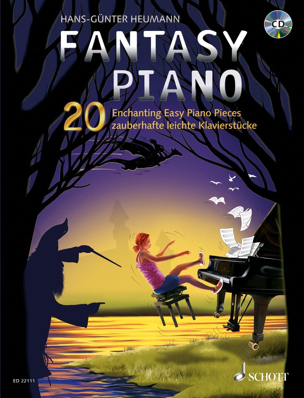 Fantasy Piano: 20 zauberhafte leichte Klavierstücke