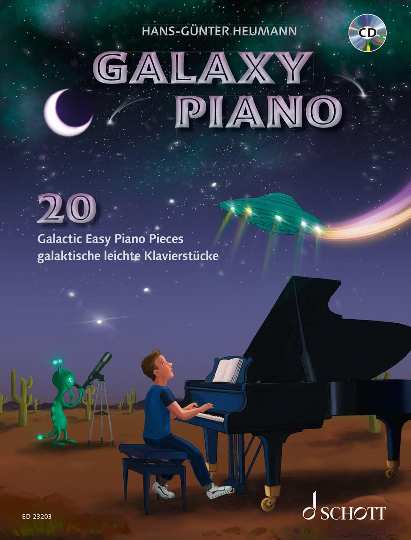 Galaxy Piano: 20 galaktisch leichte Klavierstücke