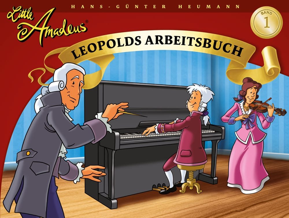 Little Amadeus: Arbeitsbuch, Band 1