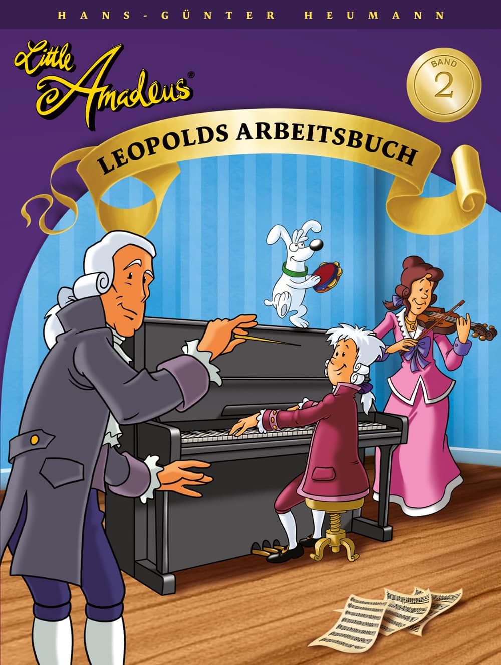 Little Amadeus: Arbeitsbuch, Band 2