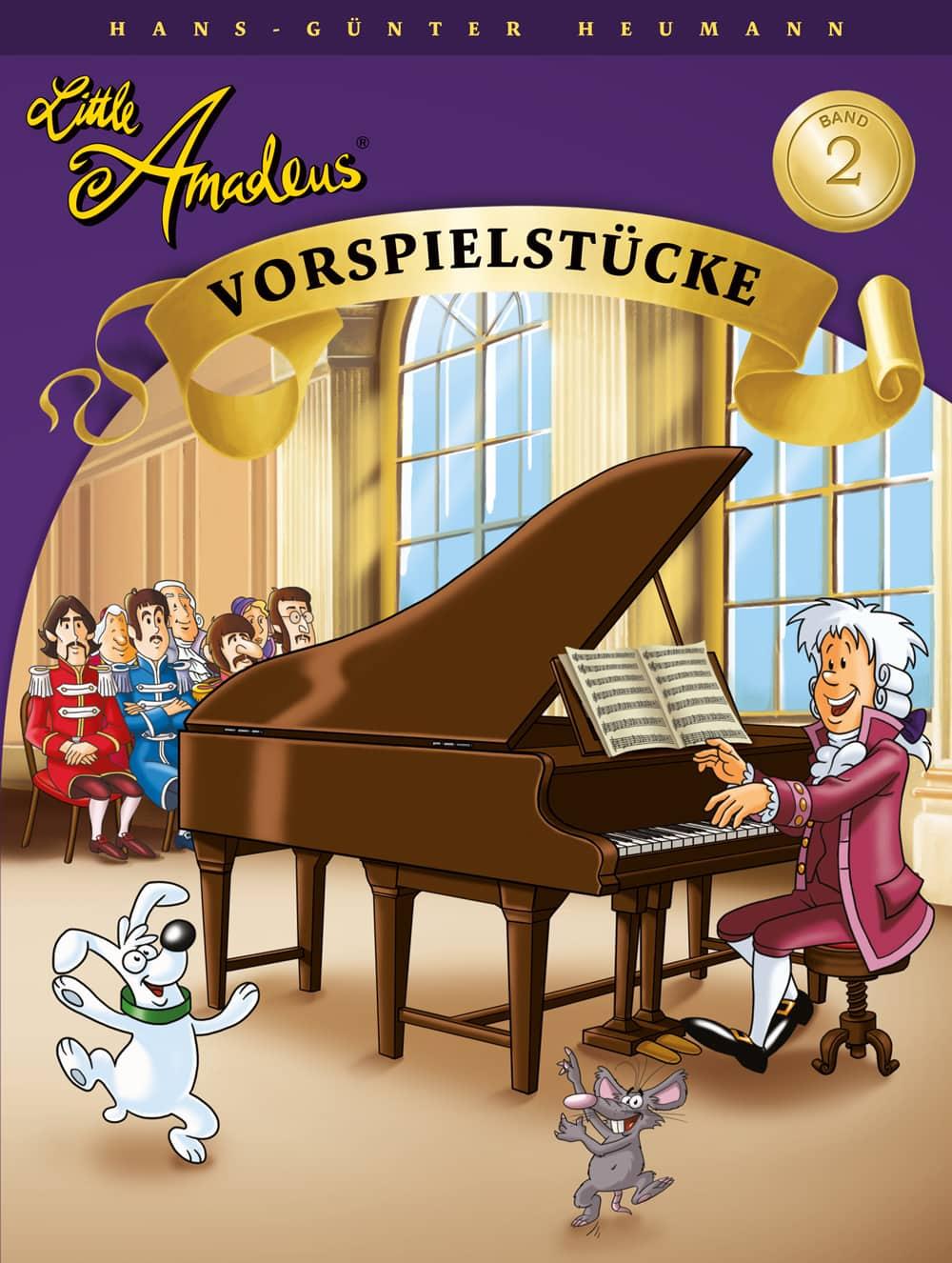 Little Amadeus: Vorspielstücke, Band 2