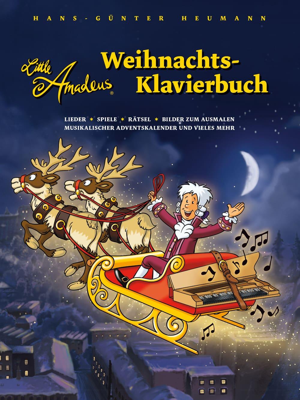 Little Amadeus: Weihnachts-Klavierbuch