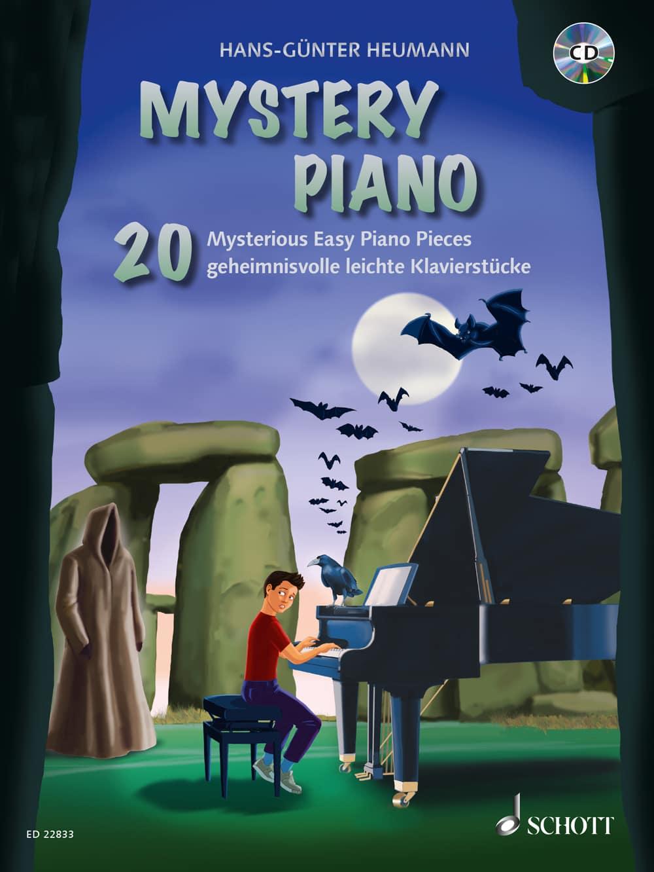 Mystery Piano: 20 geheimnisvolle leichte Klavierstücke