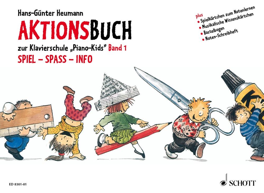 Piano Kids: Aktionsbuch, Band 1