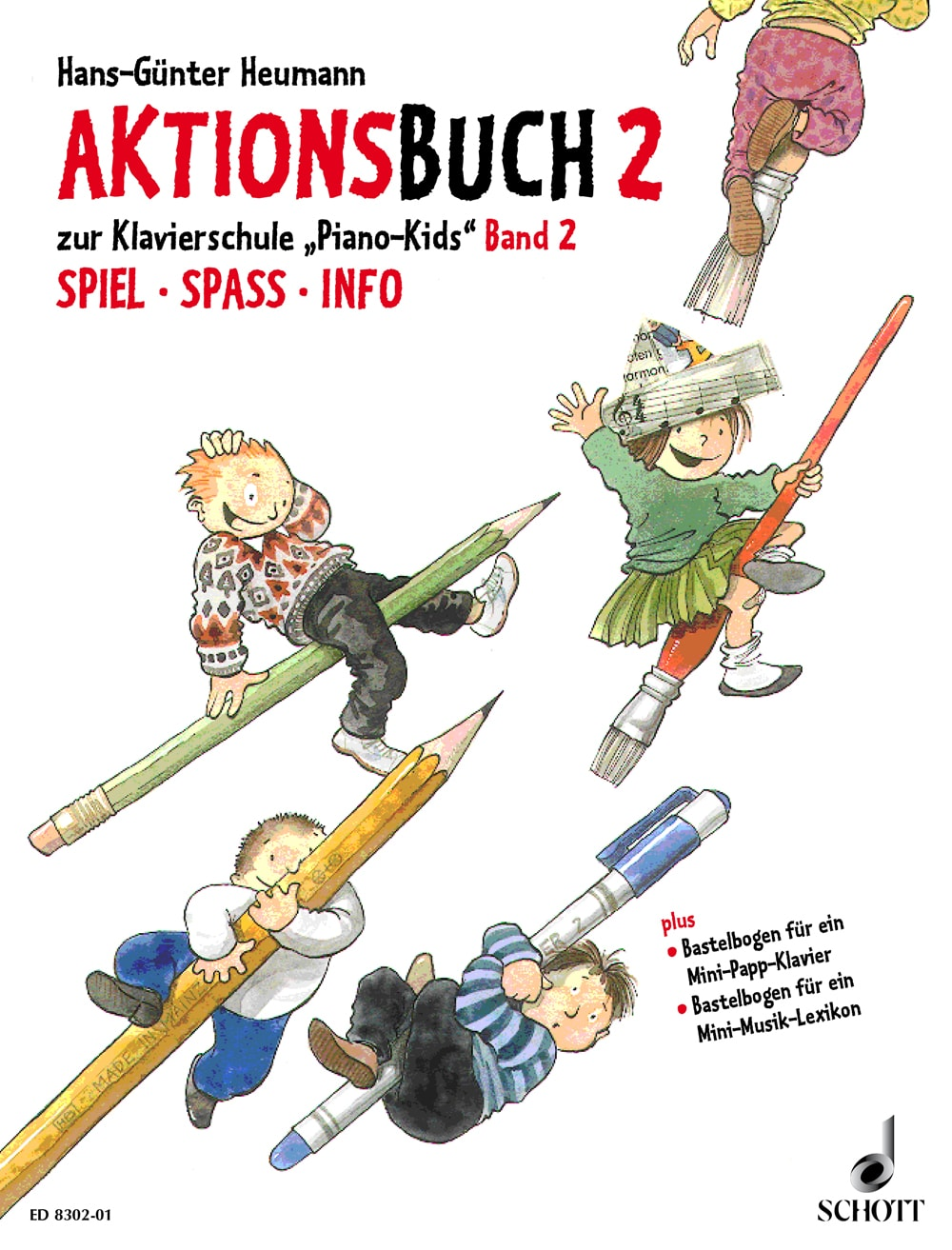 Piano Kids: Aktionsbuch, Band 2