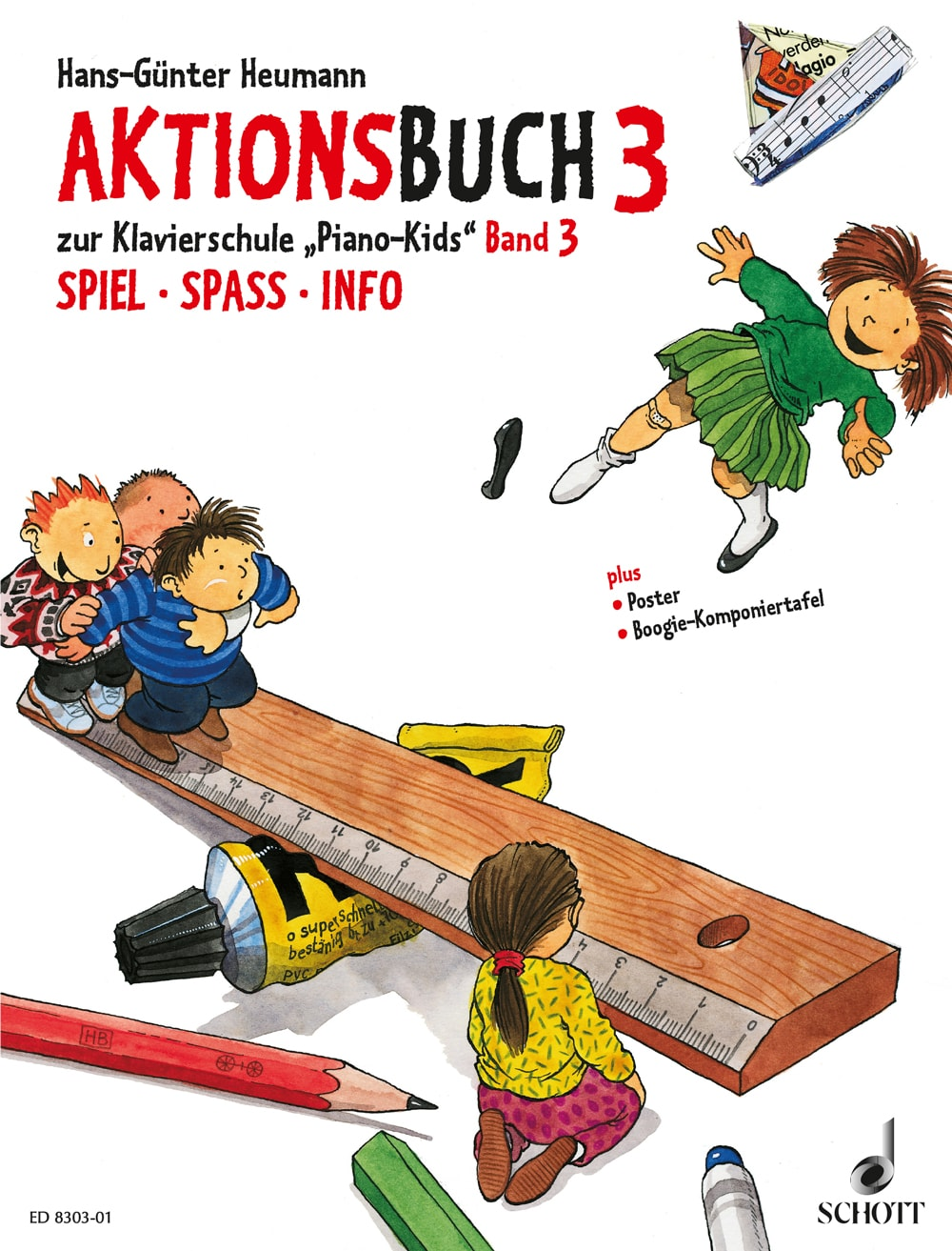 Piano Kids: Aktionsbuch, Band 3