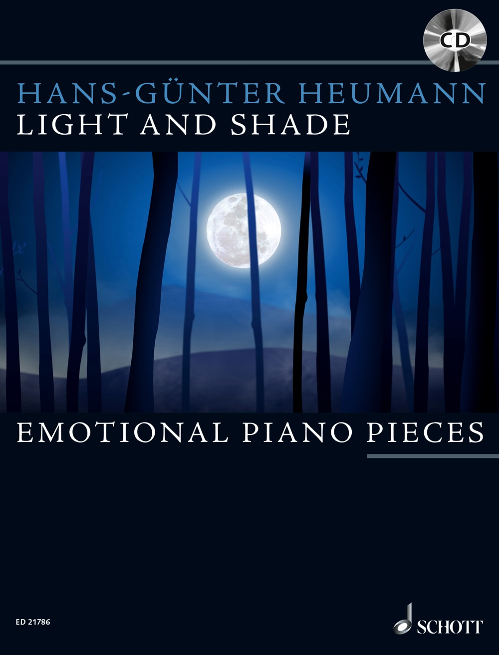 Light And Shade: 12 Emotional Piano Pieces + CD