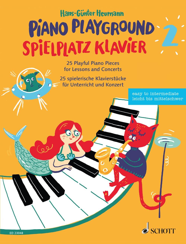 Spielplatz Klavier: 25 spielerische Klavierstücke, Band 2