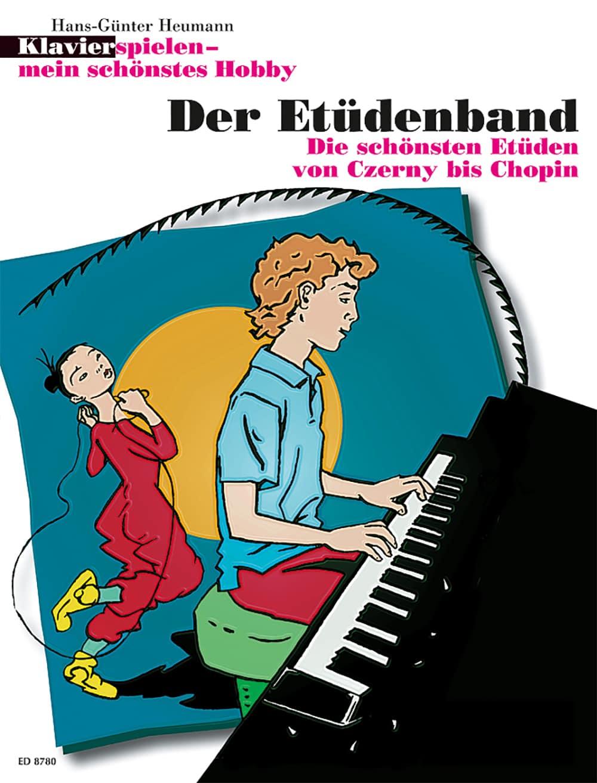 Klavier spielen – mein schönstes Hobby: Der Etüdenband