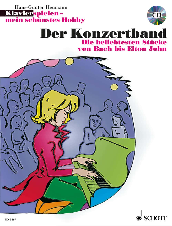 Klavier spielen – mein schönstes Hobby: Der Konzertband