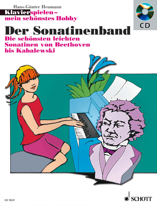 Klavier spielen – mein schönstes Hobby: Der Sonatinenband