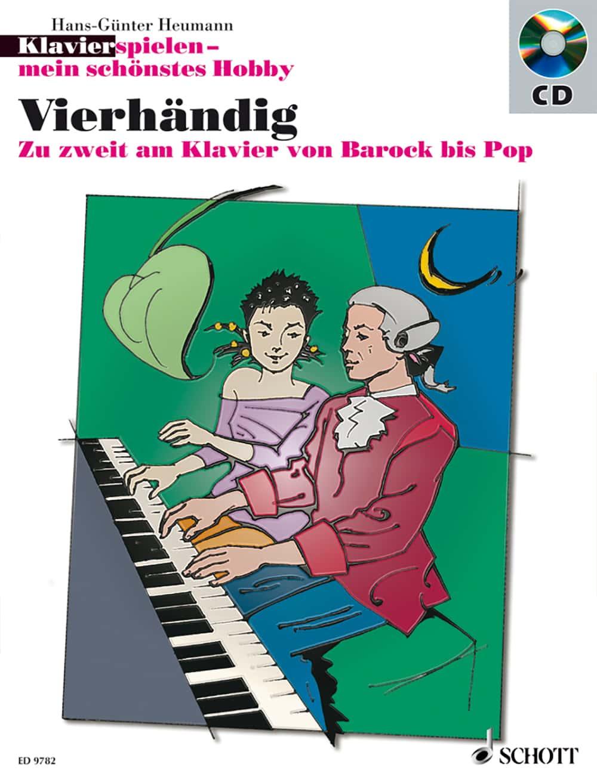 Klavier spielen – mein schönstes Hobby: Vierhändig